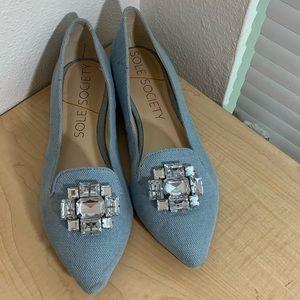 Sole Society Shoes - Sole Society | Libby | Jeweled | Flats